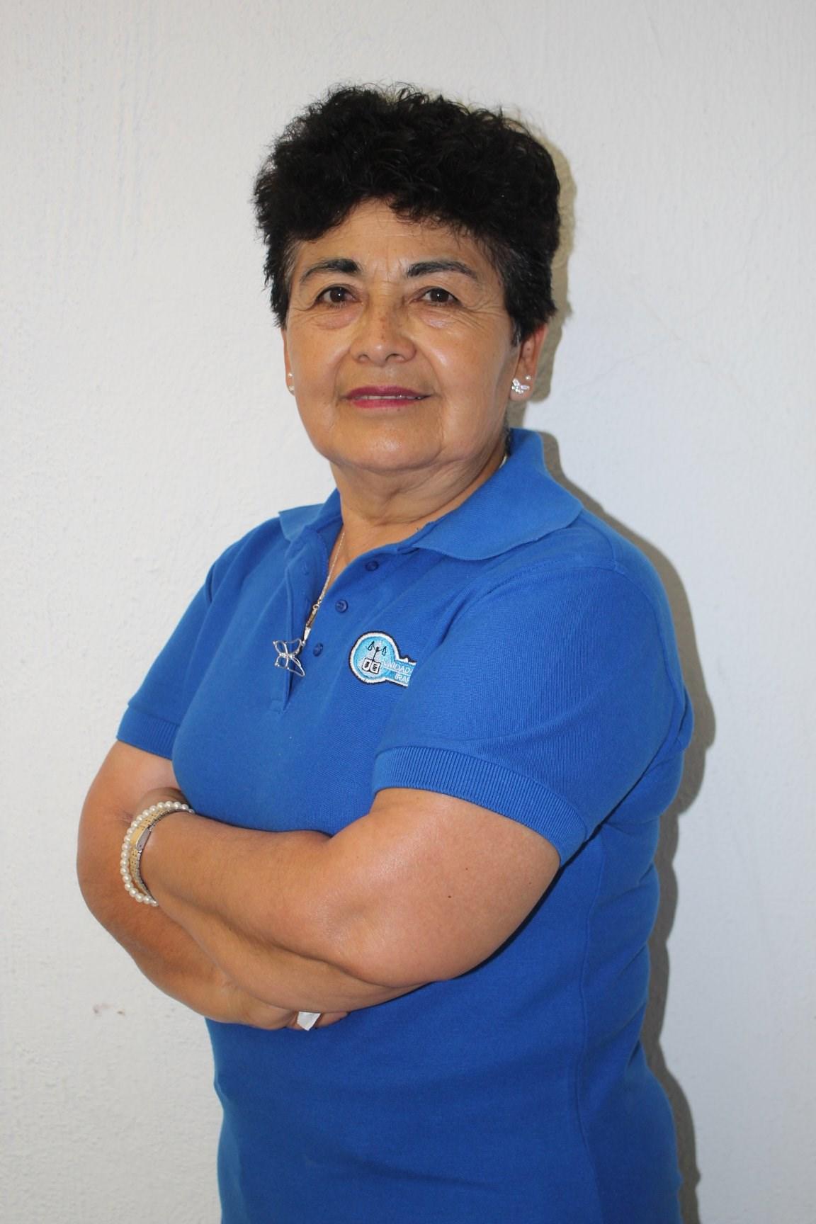 Terapeuta en Tanatología y Adicciones Aurora Olvera González